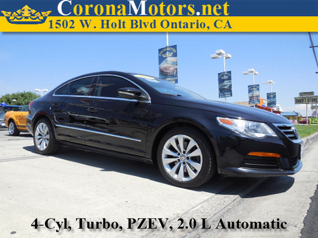 2011 Volkswagen CC Sport Black 4 Cylinder Engine 4-Wheel Disc Brakes 6-Speed AT AC AT ABS