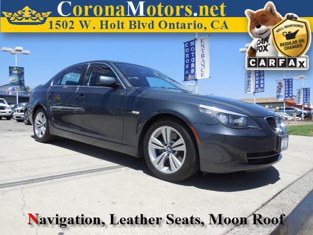 2010 BMW 5 Series 528i Gray 4-Wheel Disc Brakes AC ABS Adjustable Steering Wheel Aluminum Wh
