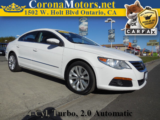 2010 Volkswagen CC Sport 4 Cylinder Engine 4-Wheel Disc Brakes 6-Speed AT AC AT ABS Adjus