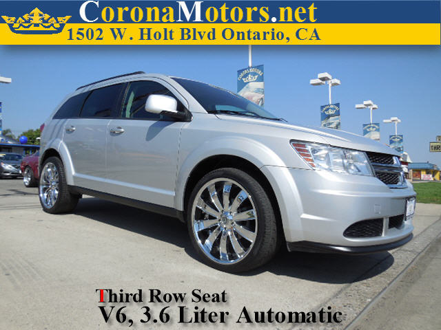 2011 Dodge Journey Mainstreet Silver 4-Wheel Disc Brakes 6-Speed AT AC AT ABS Adjustable