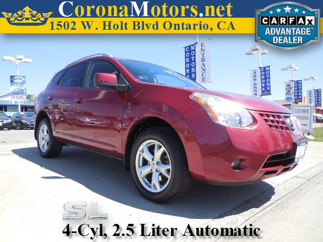 2008 Nissan Rogue SL Burgundy 4 Cylinder Engine 4-Wheel Disc Brakes AC AT ABS Adjustable S