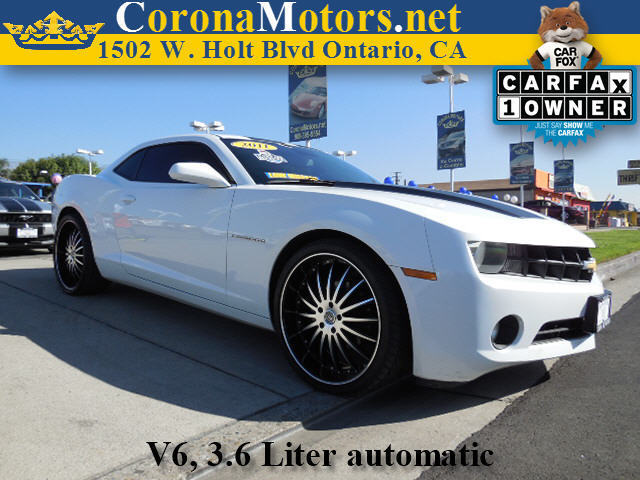 2011 Chevrolet Camaro 2LS White 4-Wheel Disc Brakes 6-Speed AT AC AT ABS Adjustable Steer