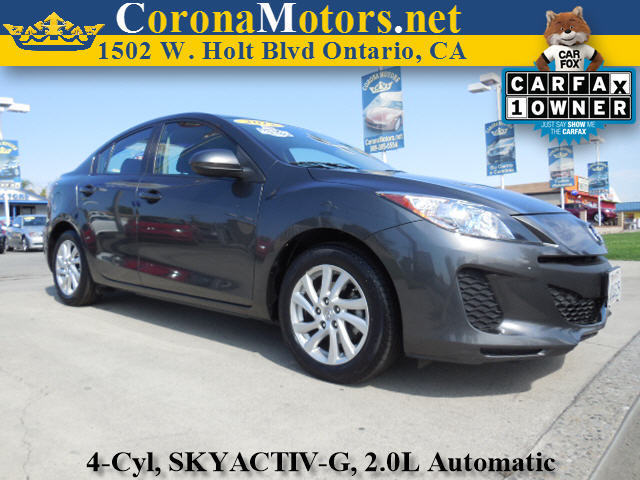 2012 Mazda Mazda3 i Touring Charcoal 4 Cylinder Engine 4-Wheel Disc Brakes 6-Speed AT AC A