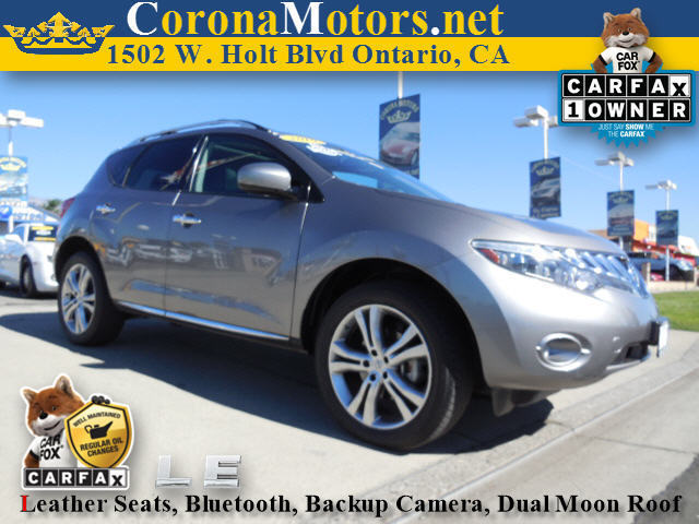 2010 Nissan Murano LE Charcoal 4-Wheel Disc Brakes AC AT ABS Adjustable Steering Wheel Alu