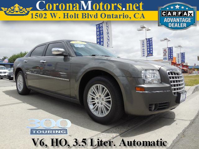 2010 Chrysler 300 Touring Gray 4-Speed AT 4-Wheel Disc Brakes AC AT ABS Adjustable Steeri