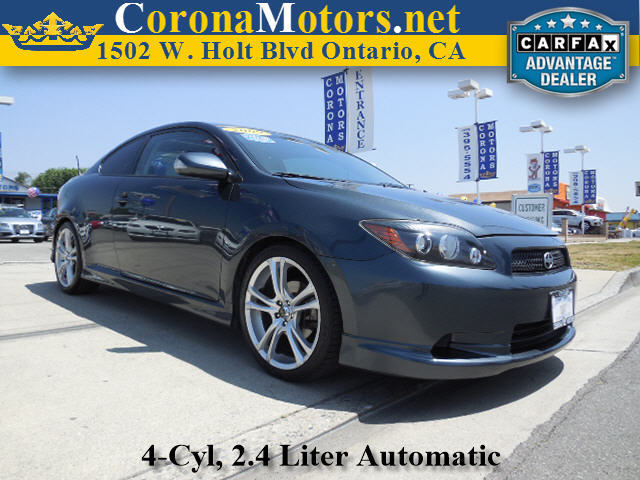 2009 Scion tC Gray 4 Cylinder Engine 4-Speed AT 4-Wheel Disc Brakes AC AT ABS Adjustable