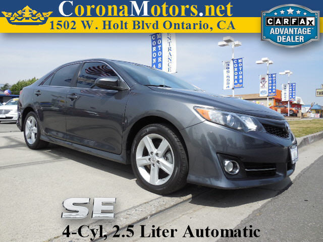 2012 Toyota Camry SE Dark Gray 4 Cylinder Engine 4-Wheel Disc Brakes 6-Speed AT AC AT ABS