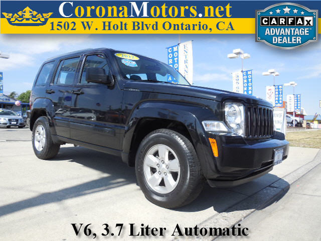 2012 Jeep Liberty Sport Black 4-Speed AT 4-Wheel Disc Brakes AC AT ABS Adjustable Steerin