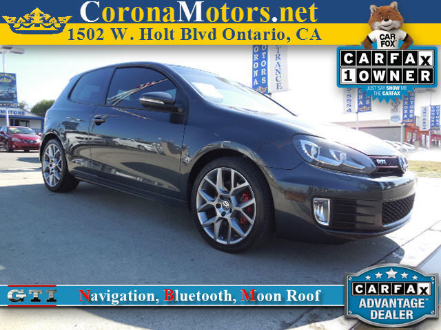 2013 Volkswagen GTI wSunroof  Navi Carbon Steel Gray Metallic 4 Cylinder Engine 4-Wheel Disc B