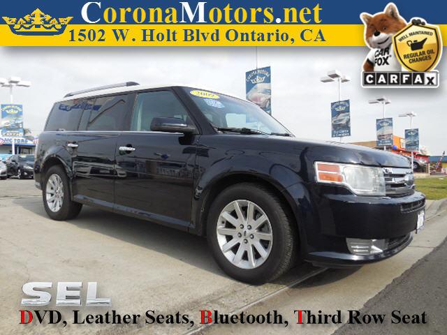 2009 Ford Flex SEL Dark blue 3rd Row Seat 4-Wheel Disc Brakes 6-Speed AT AC AT ABS Adjus