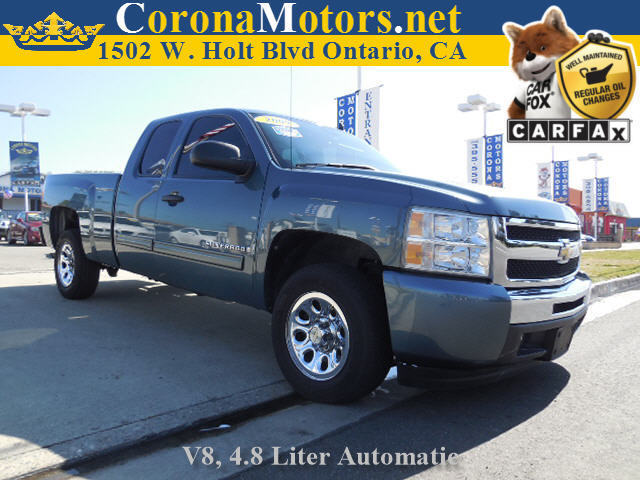 2009 Chevrolet Silverado 1500 LT Blue Granite Metallic 8 Cylinder Engine AC AT ABS Adjustab