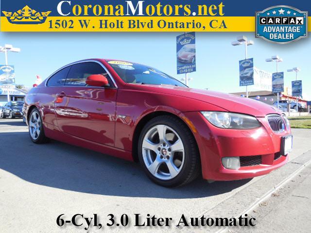 2008 BMW 3 Series 328i Red 4-Wheel Disc Brakes AC ABS Adjustable Steering Wheel Aluminum Whe