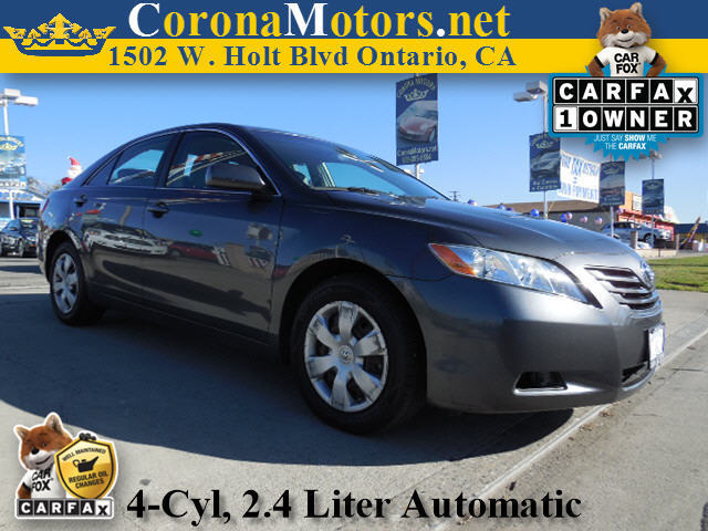2009 Toyota Camry Charcoal 4 Cylinder Engine 4-Wheel Disc Brakes AC ABS Adjustable Steering
