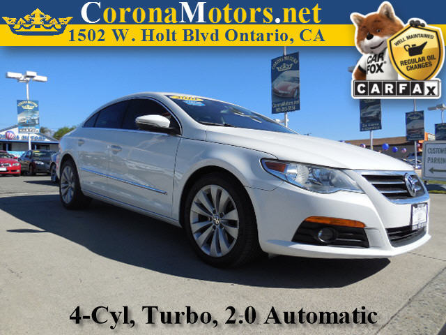 2010 Volkswagen CC Sport White 4 Cylinder Engine 4-Wheel Disc Brakes 6-Speed AT AC AT ABS