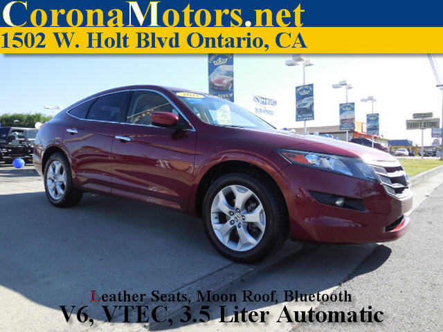 2011 Honda Accord Crosstour EX-L Burgundy 4-Wheel Disc Brakes 5-Speed AT AC AT ABS Adjust