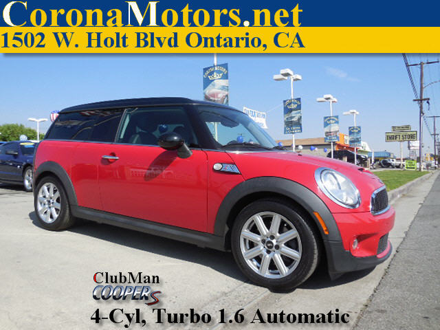 2010 Mini Cooper Clubman S Red 4 Cylinder Engine 4-Wheel Disc Brakes AC ABS Adjustable Steer