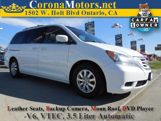 2010 Honda Odyssey EX-L 3rd Row Seat 4-Wheel Disc Brakes 5-Speed AT AC AT ABS Adjustable