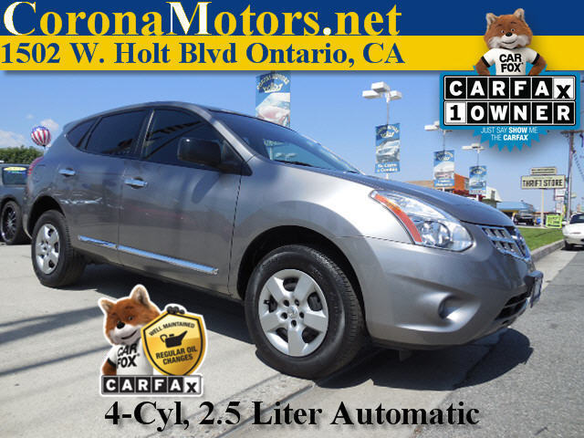 2012 Nissan Rogue S 4 Cylinder Engine 4-Wheel Disc Brakes AC AT ABS Adjustable Steering Whe