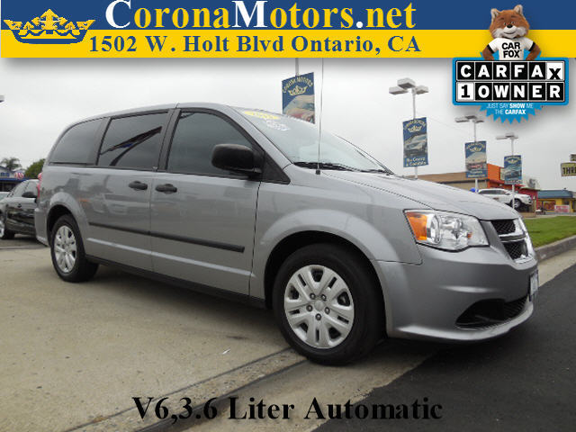 2013 Dodge Grand Caravan Silver 3rd Row Seat 4-Wheel Disc Brakes 6-Speed AT AC AT ABS Ad