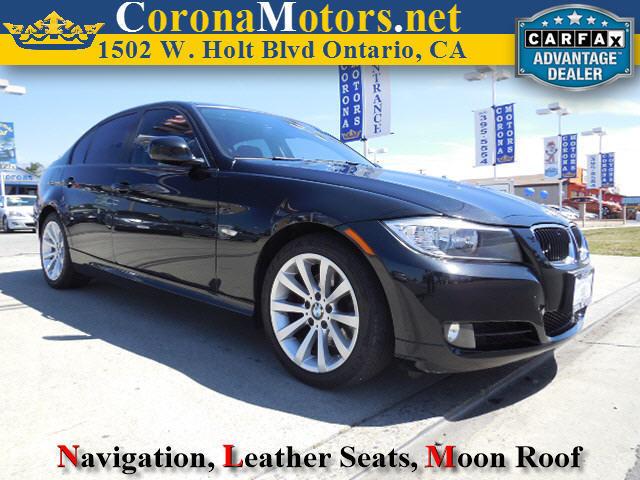 2011 BMW 3 Series 328i Black 4-Wheel Disc Brakes AC ABS Adjustable Steering Wheel Aluminum W