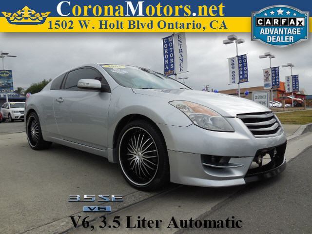 2008 Nissan Altima 35 SE Silver 4-Wheel Disc Brakes AC AT ABS Adjustable Steering Wheel A