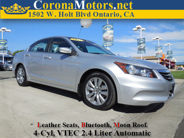 2011 Honda Accord EX-L 4 Cylinder Engine 4-Wheel Disc Brakes 5-Speed AT AC AT ABS Adjusta