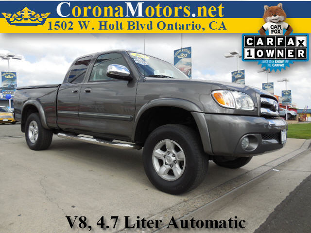 2004 Toyota Tundra SR5 Gray 4-Speed AT 8 Cylinder Engine AC AT ABS Adjustable Steering Wh