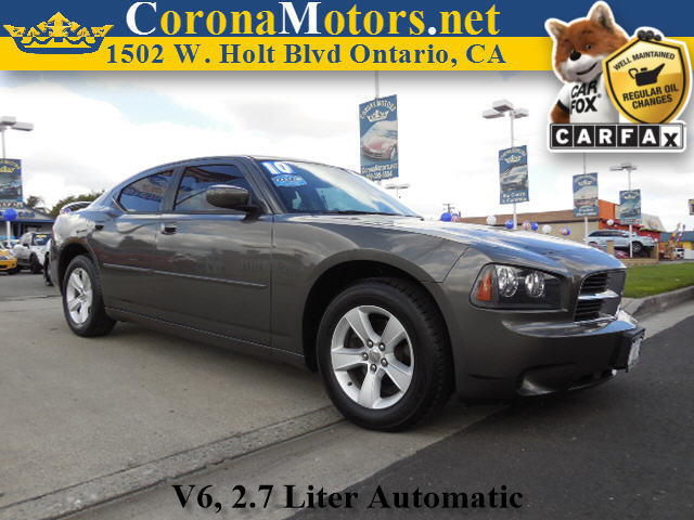 2010 Dodge Charger Charcoal 4-Speed AT 4-Wheel Disc Brakes AC AT Adjustable Steering Wheel