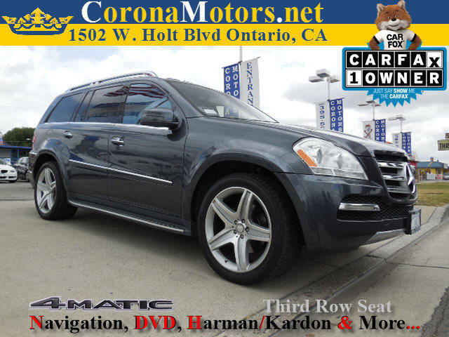 2011 Mercedes GL-Class GL550 3rd Row Seat 4-Wheel Disc Brakes 7-Speed AT 8 Cylinder Engine A