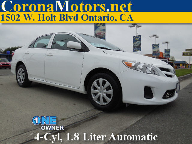 2013 Toyota Corolla LLESS Special EditionLE Special Edition White 4 Cylinder Engine AC ABS