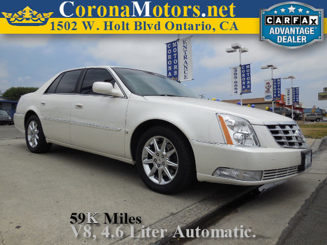 2010 Cadillac DTS w1SC Vanilla Latte 4-Speed AT 4-Wheel Disc Brakes 8 Cylinder Engine AC A