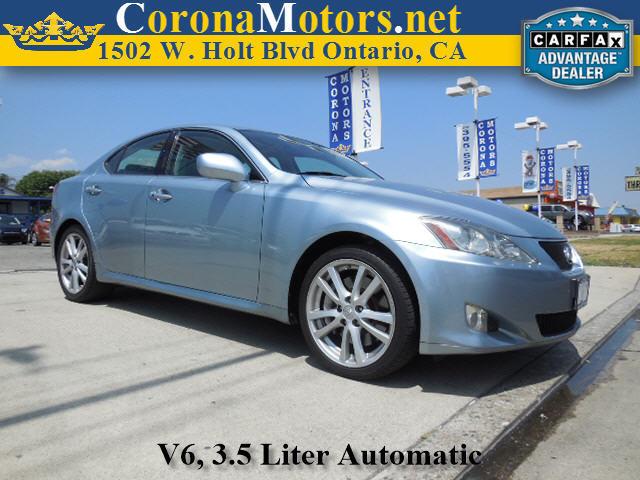 2006 Lexus IS 350 Auto Breakwater Blue Metallic 4-Wheel Disc Brakes 6-Speed AT AC AT ABS
