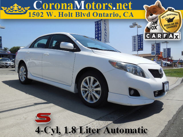 2010 Toyota Corolla S 4 Cylinder Engine 4-Speed AT AC AT ABS Adjustable Steering Wheel AM