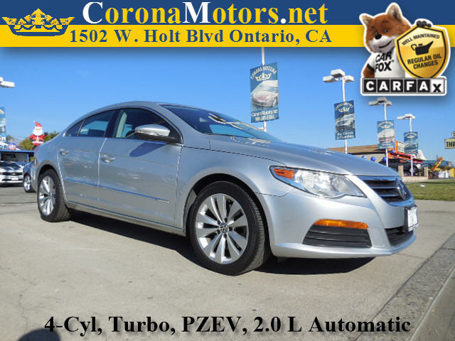 2011 Volkswagen CC Sport Silver 4 Cylinder Engine 4-Wheel Disc Brakes 6-Speed AT AC AT AB