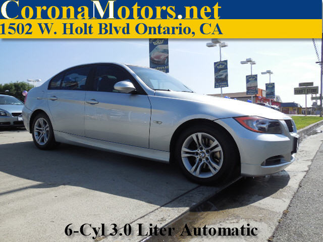 2008 BMW 3 Series 328i Silver 4-Wheel Disc Brakes AC ABS Adjustable Steering Wheel Aluminum