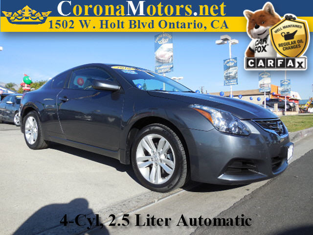 2010 Nissan Altima 25 S Coupe Charcoal 4 Cylinder Engine 4-Wheel Disc Brakes AC AT ABS Ad