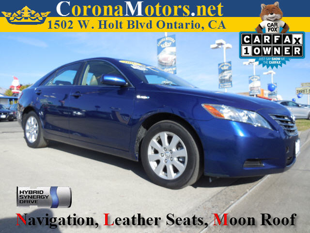 2009 Toyota Camry Hybrid Blue 4 Cylinder Engine 4-Wheel Disc Brakes AC AT ABS Adjustable S