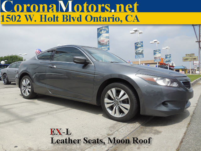 2008 Honda Accord EX-L Charcoal 4 Cylinder Engine 4-Wheel Disc Brakes 5-Speed AT AC AT AB