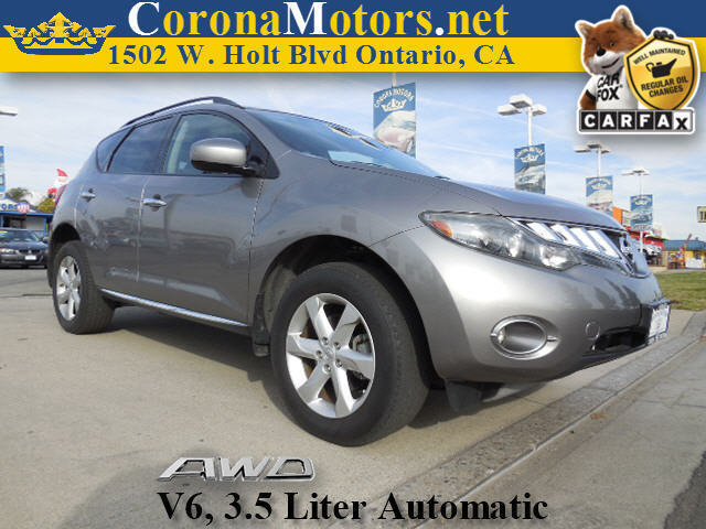 2009 Nissan Murano S AWD Saharan Stone Metallic 4-Wheel Disc Brakes AC AT ABS Adjustable St