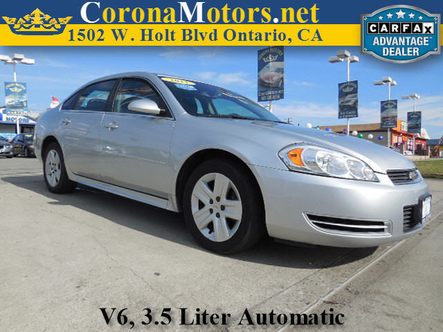 2011 Chevrolet Impala LS Fleet Silver 4-Speed AT 4-Wheel Disc Brakes AC AT ABS Adjustable